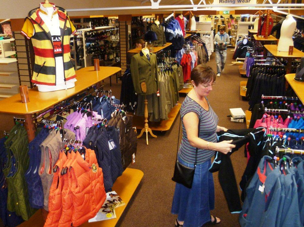 A customer browses at our Cardiff Store