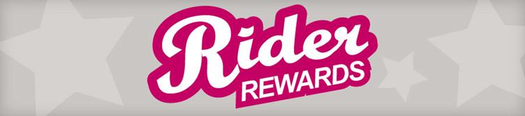 Click here to learn more about Rider Rewards