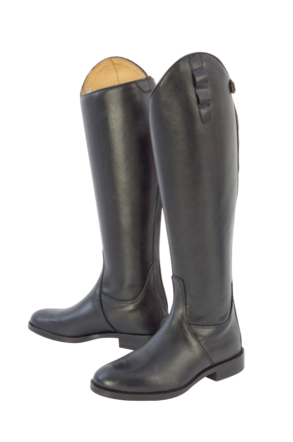 Long Leather Riding Boots - Norfolk