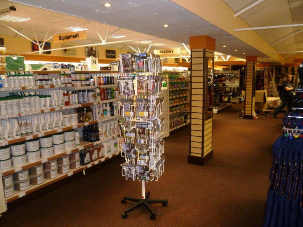 The Supplements area at our Cardiff Store